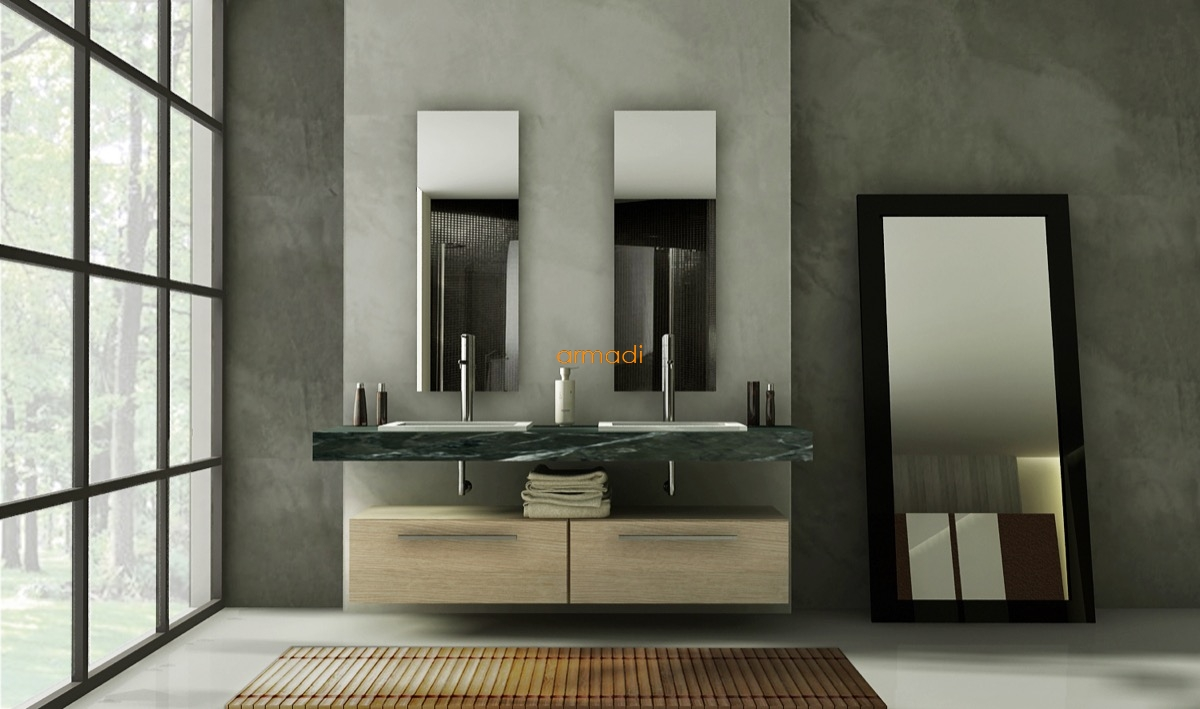 Custom Bathroom Vanities Long Island Ny custom bathroom vanity - home design ideas and pictures