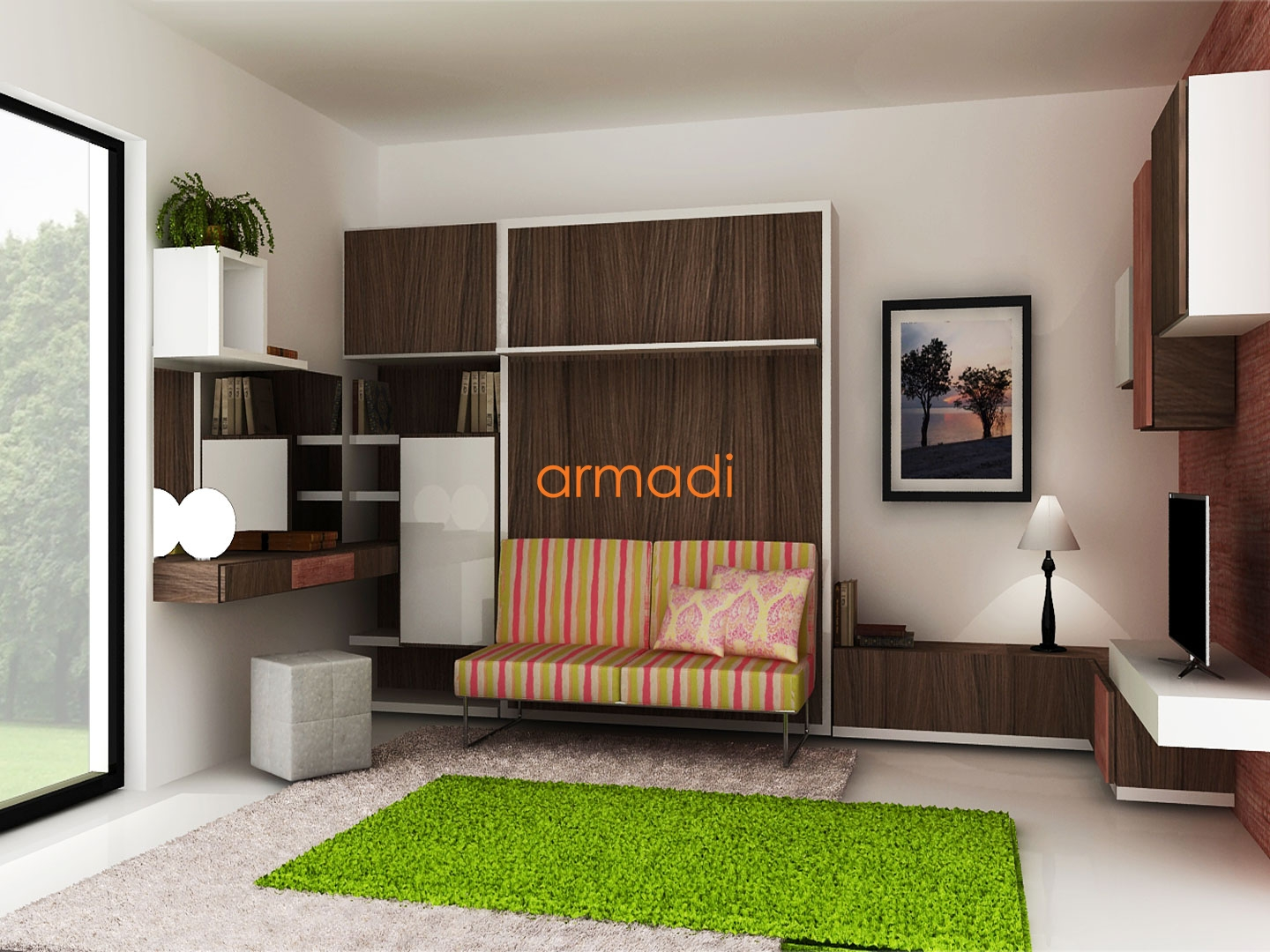 Custom wall beds images home wall decoration ideas custom wall beds armadi casa wb6 amipublicfo images amipublicfo Gallery