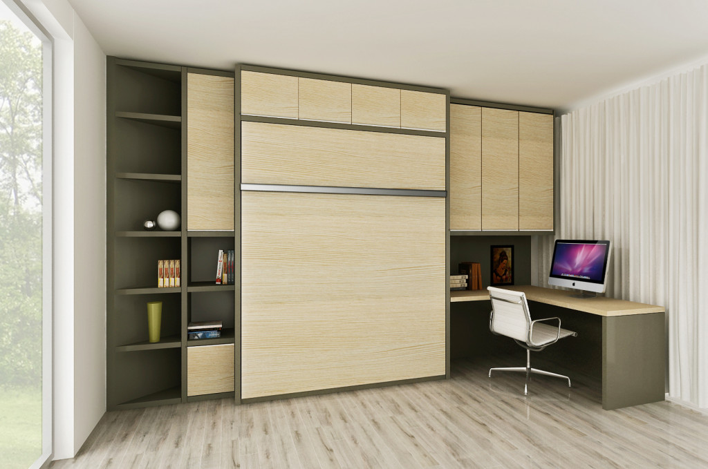 Wall Bed Unit Completely Customized