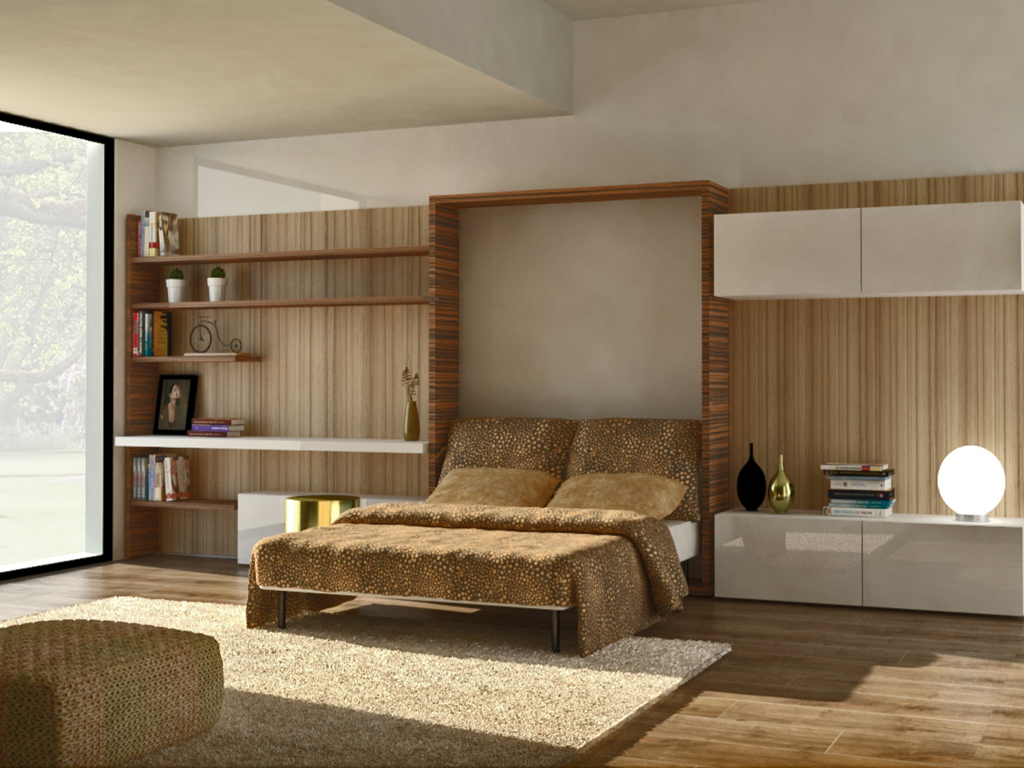 Wall Bed 09