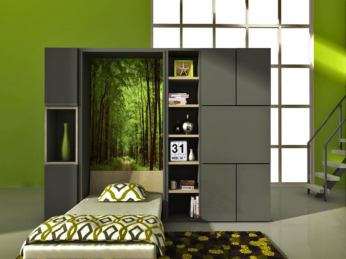 Wall Bed 12