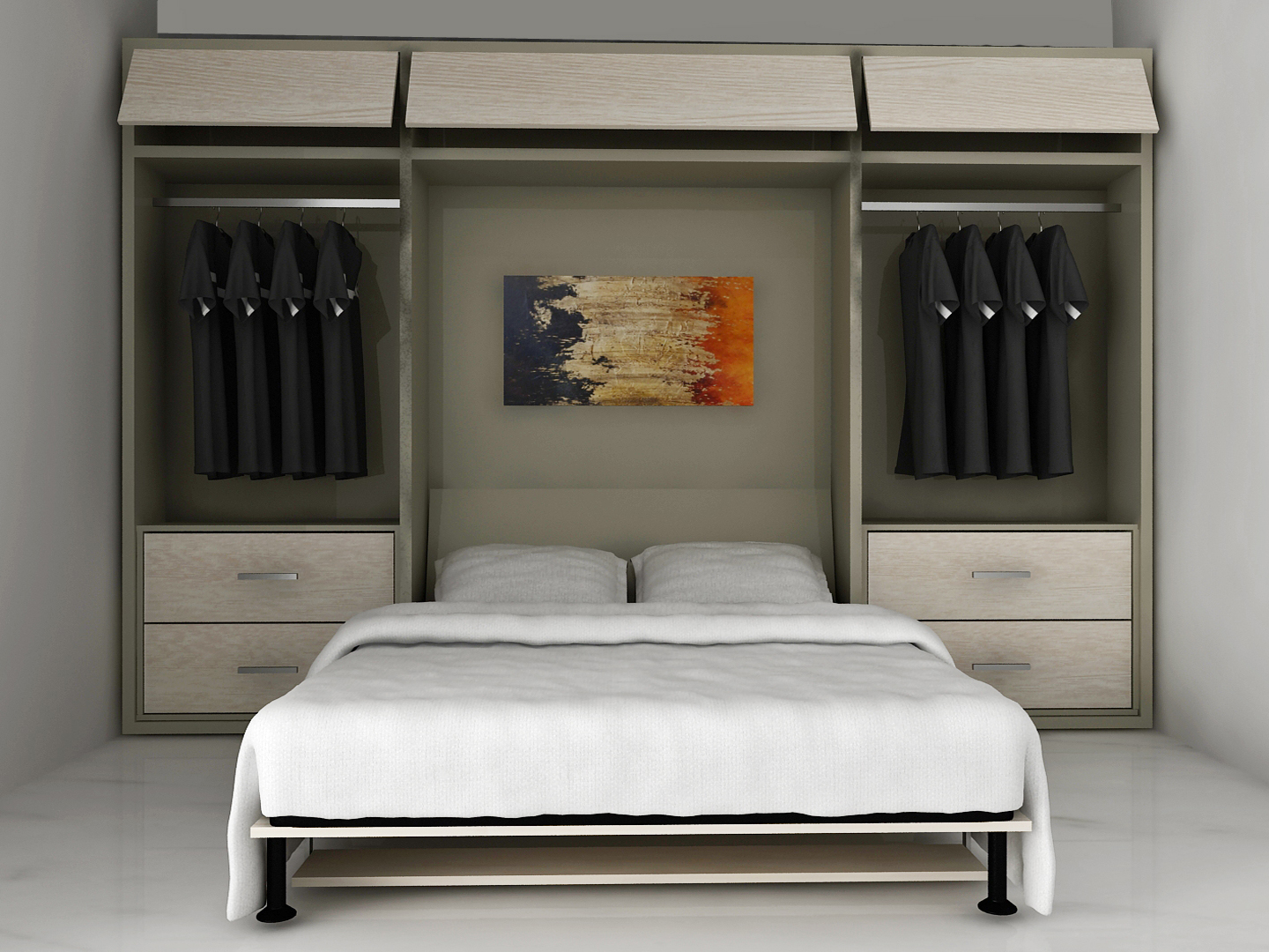 Custom Wall Bed Miami 55